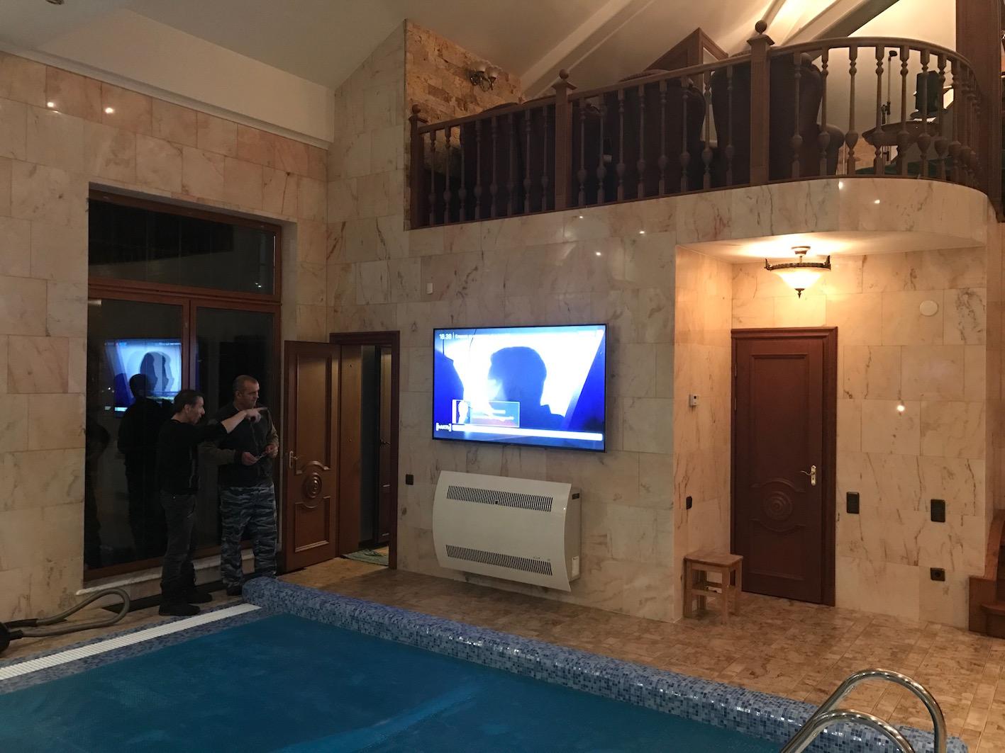 пуско-наладка телевидения и интернета в частном доме
