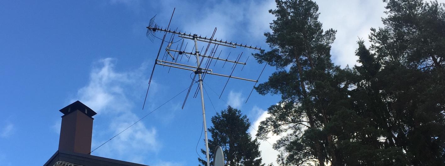 Эфирная антенна на даче