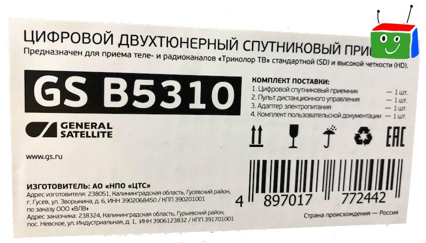 GS B5310