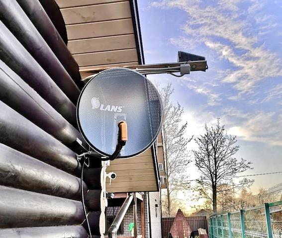 Установка антенны Шлиссельбург